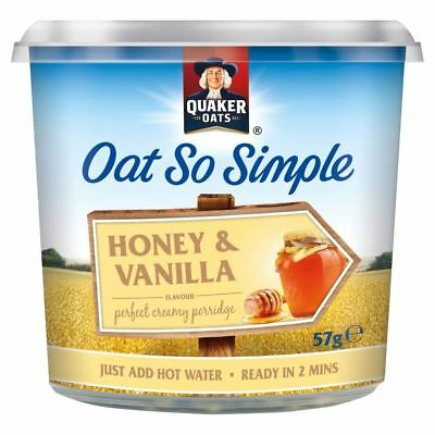 Quaker Oat So Simple Honey & Vanilla (57g) • AUD 4.25