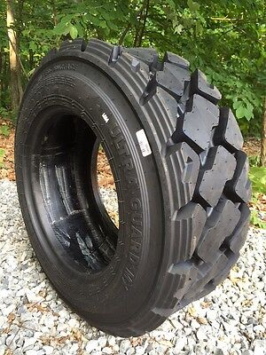 1 HD 10-16.5 Carlisle Ultra Guard MX Skid Steer Tire 10X16.5-10 PLY-Made in USA