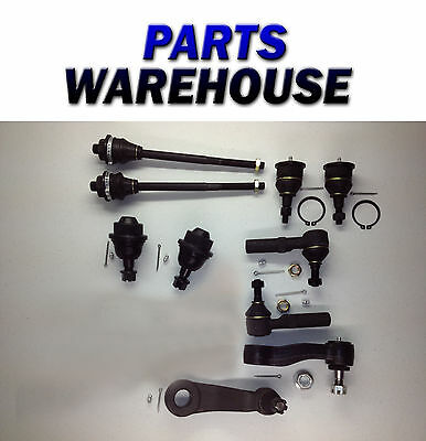10 Piece Front Suspension Kit for 2000-2007 Chevy GMC Truck Lifetime Warranty