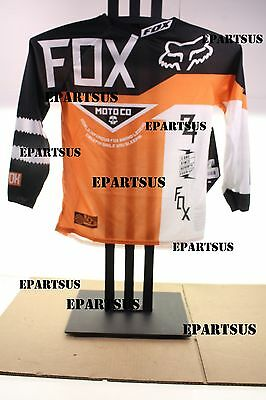 Fox Racing Youth 360 Machina Jersey (Orange) 01061-009-M