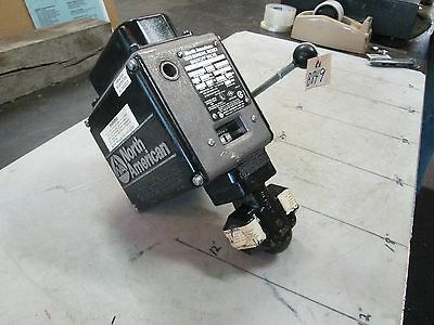 "North American Manual Reset Shut-off Valve #1518-0 3/4"" FNPT Svc. Nat Gas (NEW)"