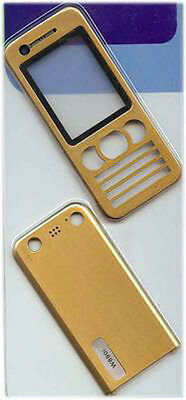 Gold Replacement Housing / Fascia / Cover / Case for Sony Ericsson W890 / W890i