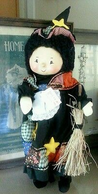 "House Of Hatten, ""Whitch"" Halloween / Thanksgiving; Figure, 19"" Tall"