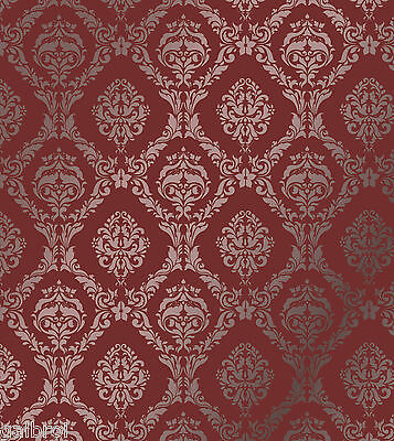 LARGE WALL DAMASK STENCIL PATTERN FAUX MURAL DECOR #1007 (Choose Custom Size)