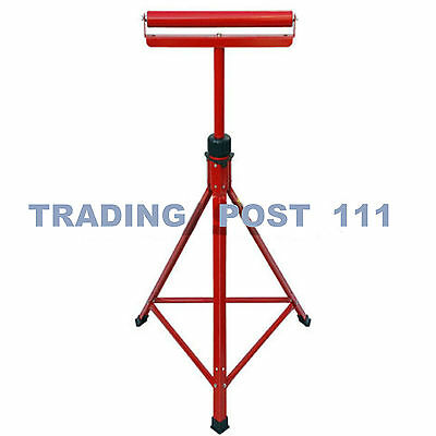 "Metal Roller Stands Rest Woodworking 27"" -47"" Adjustable Sturdy Wood  R1B"
