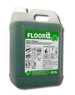 Clover Floor IT (Qty 2x5Ltr) Floor Cleaning, Chemicals, Wholesale, Janitorial