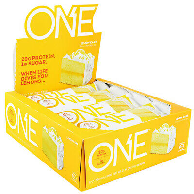 Iss Research Oh Yeah! One 1 Bar 12 Per Box Discounted Low Price Protein Bar New