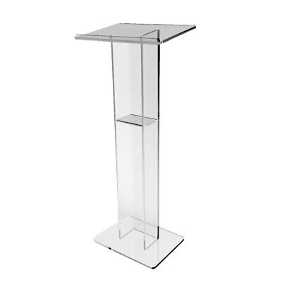 Acrylic Podium Plexiglass Pulpit School Event Conference Church Lectern Lectern