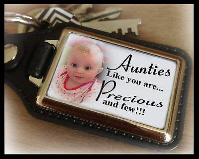 Personalised keyring, Aunties like you... unique birthday or christmas present.
