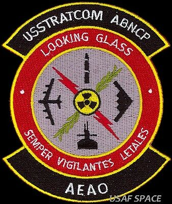 Usstratcom Airborne Command Post- Looking Glass -Emergency Action Officer- Patch