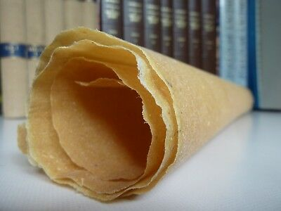 """Real skin PARCHMENT (vellum+mixed skins), medieval scroll 24 x20""""- 20 USD/sheet"""
