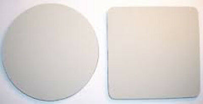 Premium Quality Blank Sublimation Coasters For Heat Presses - Round Or Square