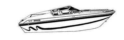 7oz BOAT COVER POWERQUEST ENTICER FX 290 1996-2002