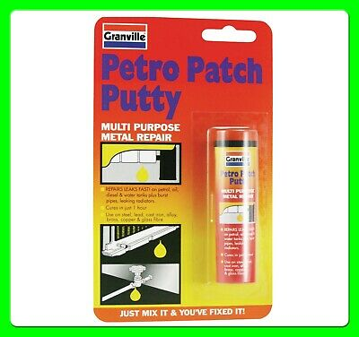 Granville Petro Patch Putty Fuel Tank Metal [PPP] Repair Gearbox Crank Case