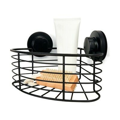 Suction Corner Shower Caddy - Chrome