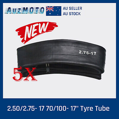 5x 2.75-17 Inch 70/100-17 Front Inner Tube for 150cc 200cc 250cc Dirt Trail Bike
