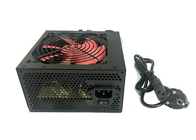 Alimentatore 625W Pc Case Atx 24 Pin Ventola 12 Cm 3 Sata 2 Ide Pc Desktop