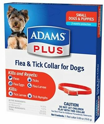 Adams Flea & Tick Collar For Small Dogs Free Shipping Direct from Manf.