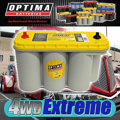 Optima Yellow Top D31T Battery 12 Volt Agm 900Cca Deep Cycle Truck Heavy Vehicle