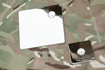 """BCB Mayday Heliograph Survival / Emergency Signalling mirror 2"""" or 4"""""""