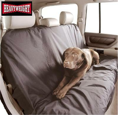 HEAVY WEIGHT DUTY BACK REAR SEAT COVER PROTECTOR nylon dog pet MITSUBISHI L200