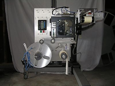 LabelPack Model 410  Labeling Machine Print Apply Tamp Conveyor
