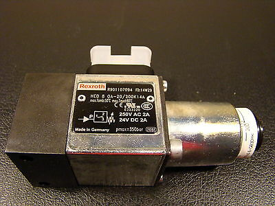 Rexroth R901107094 HED-8 OA 2X/200 K14A Pressure Switch