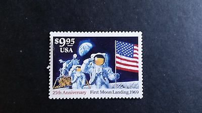 25th Anniversary First Moon Landing*$9.95 Express Mail*MNH*Scott #2842*Space