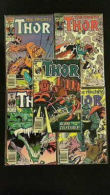 MARVEL: THE MIGHTY THOR LOT OF 5
