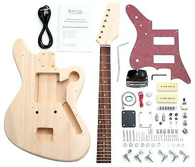 Diy Guitar Kit Jag Design Self Build Your Own Guitar Pack Do It Yourself Set