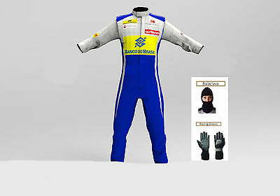 sauber Go kart race suit CIK/FIA Level 2 approved 2015