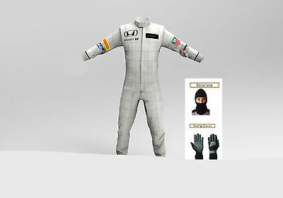 McLaren honda Go kart race suit CIK/FIA Level 2 approved 2015 style