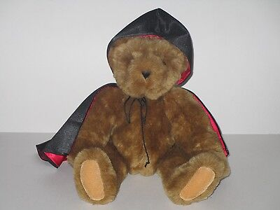 """Vermont Teddy Bear 16"""" Plush Brown Poseable Stuffed Toy"""