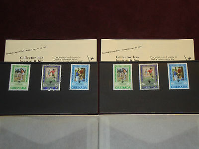 Grenada International Year of the Child Stamp Sets (1979) - 2 Sets