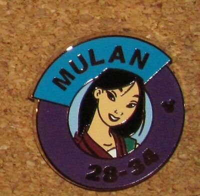 A13 Disney Trading PIN MULAN MYSTERY PINS POUCH HIDDEN MICKEY