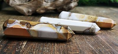 Spotted Jasper Crystal Healing Wand ~ Crystal Grid points ~ SO10