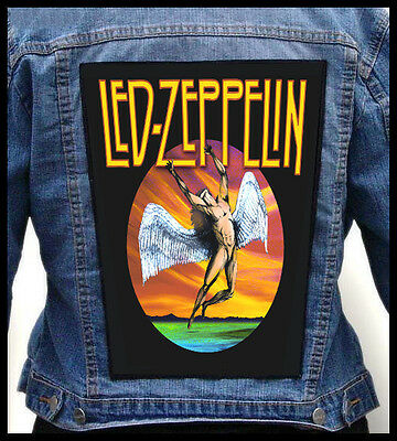 LED ZEPPELIN - Icarus  --- Giant Backpatch Back Patch /