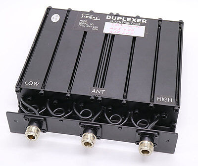 UHF 380-512MHz 50W DUPLEXER for Two Way Radio repeater N/M/BNC connector