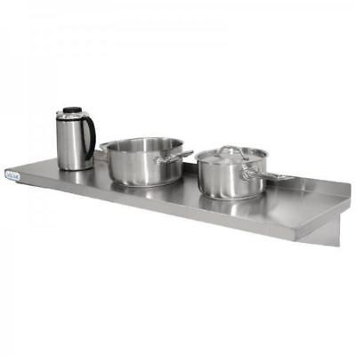 Stainless Steel Wall Shelf, 1800x300mm, Vogue, Commercial Equipment