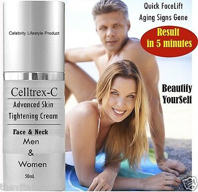 Celltrex-Face & Neck LIFTING/FIRMING SKIN TIGHTENING Antiwrinkle CREAM, ALL SKIN