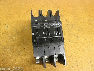 AIRPAX Circuit Breaker 11.3 3 Pole 219-3 Used