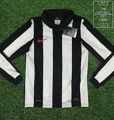 Nike Boys Football Shirt - Official Nike Dri-Fit Long Sleeved Jersey - All Sizes