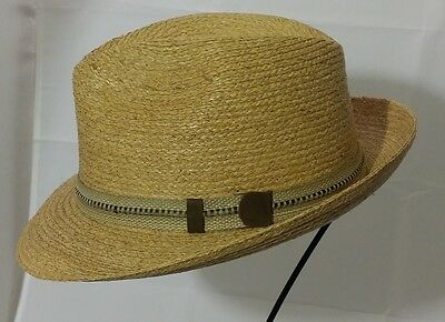 The Tilley R7 Town Hat - Raffia Straw - 2 Color Choices Same Day Shipping 0fdb4c2678fd