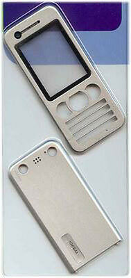 Silver Replacement Housing / Fascia / Cover /Case for Sony Ericsson W890 / W890i