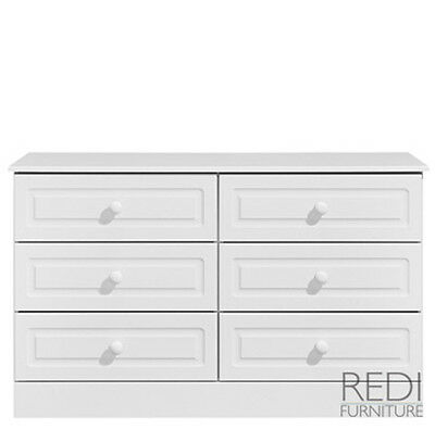 fully assembled bedroom furniture padstow 6 drawer large chest fully assembled bedroom furniture newquay 3 - Ready Assembled White Bedroom Furniture