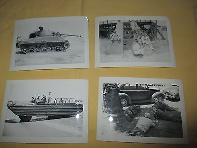 LOT 1 OF 4 VINTAGE WW II PHOTOGRAPHS BLACK AND WHITE 5 X 3 ORIGINALS