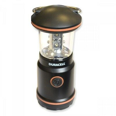 Duracell Camping Laterne 14cm 8LED 3xAAA Lampe Outdoor Zeltlampe Campingleuchte