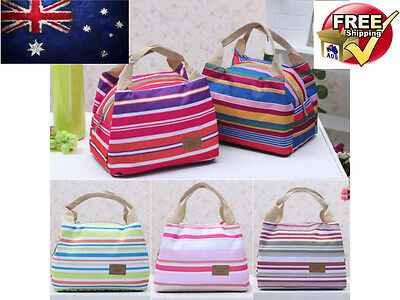 Insulated Cooler Thermal Tinfoil Picnic Lunch Bag Waterproof Travel Carry Tote