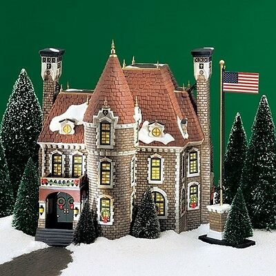 Dept 56 Christmas in the City THE CONSULATE Set/2 25 Flags Read