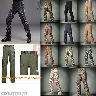 Mens Outdoor Fast Dry Breathable Anti-UV Water Repellent Trousers Casual Pants